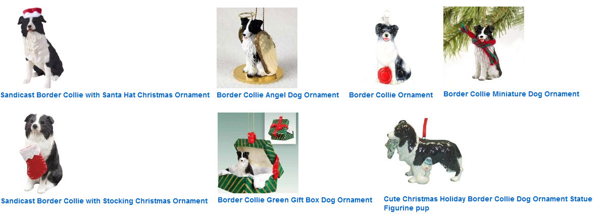 Border Collie @ DogBreed-Gifts.com - Border Collies and Christmas